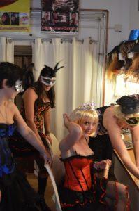 Burlesque fotoshoot wallen amsterdam
